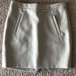 J.Crew wool skirt size 00